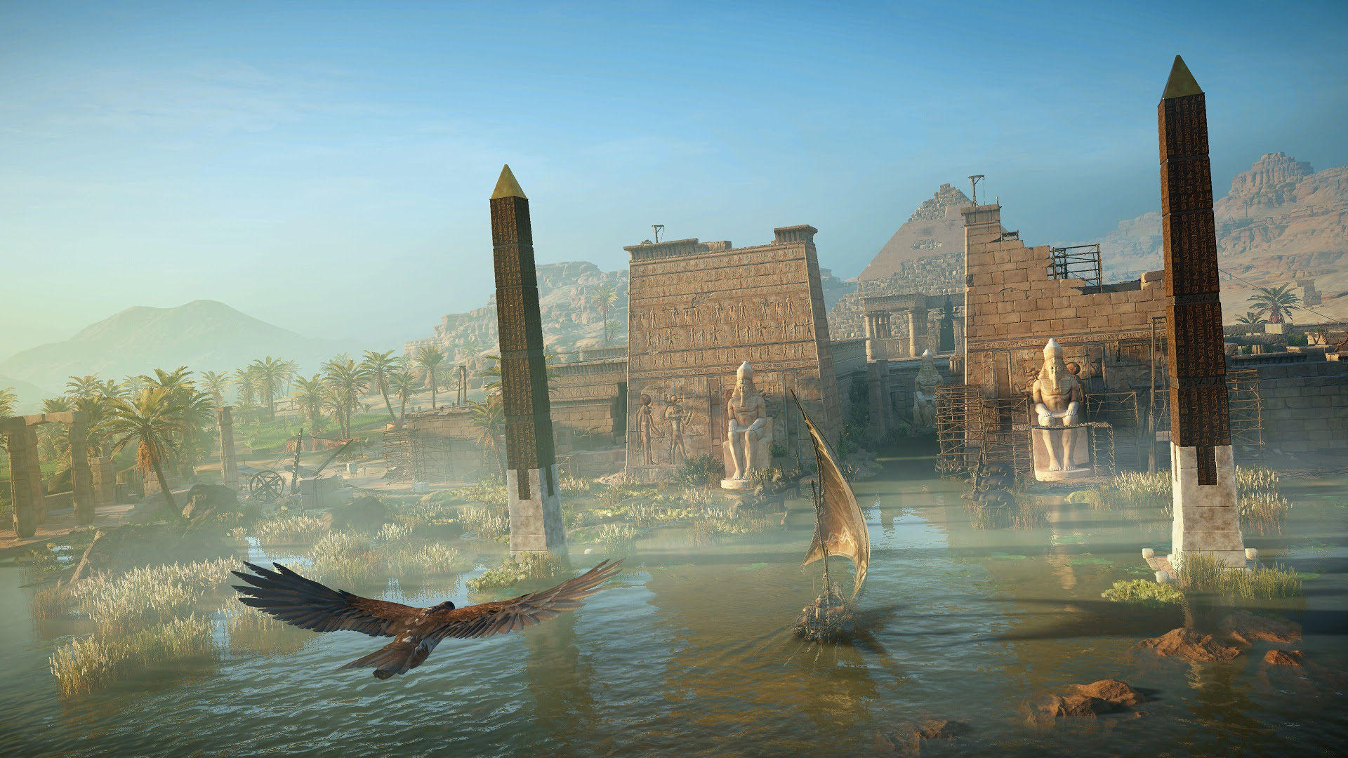 Ubisoft shows us a different side of Assassin's Creed: Origins screenshot