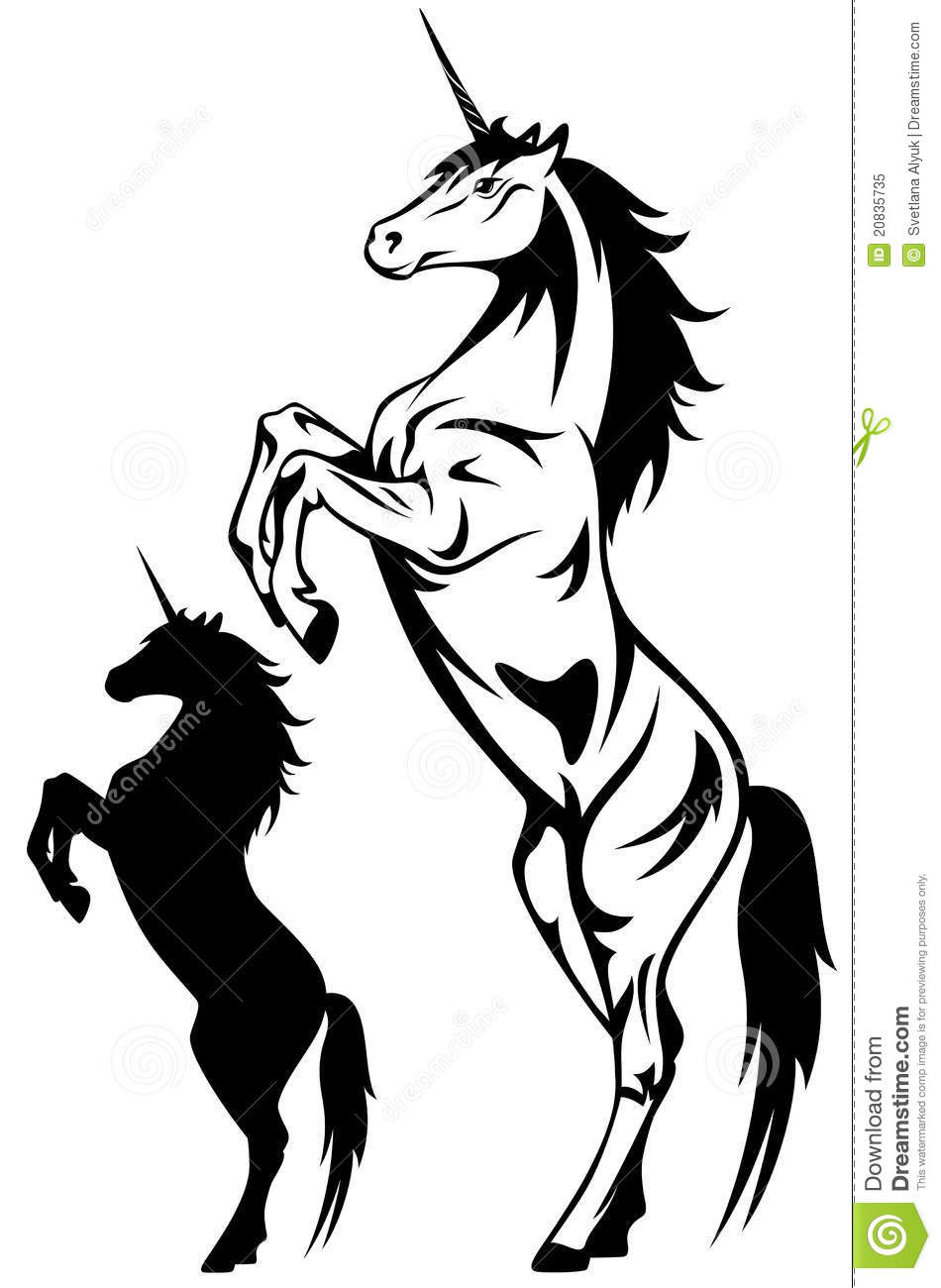 Unicorn Black And White Free Download Best Unicorn Black And White