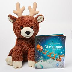 plush reindeer, holiday gifts, gift guide, holiday gift guide