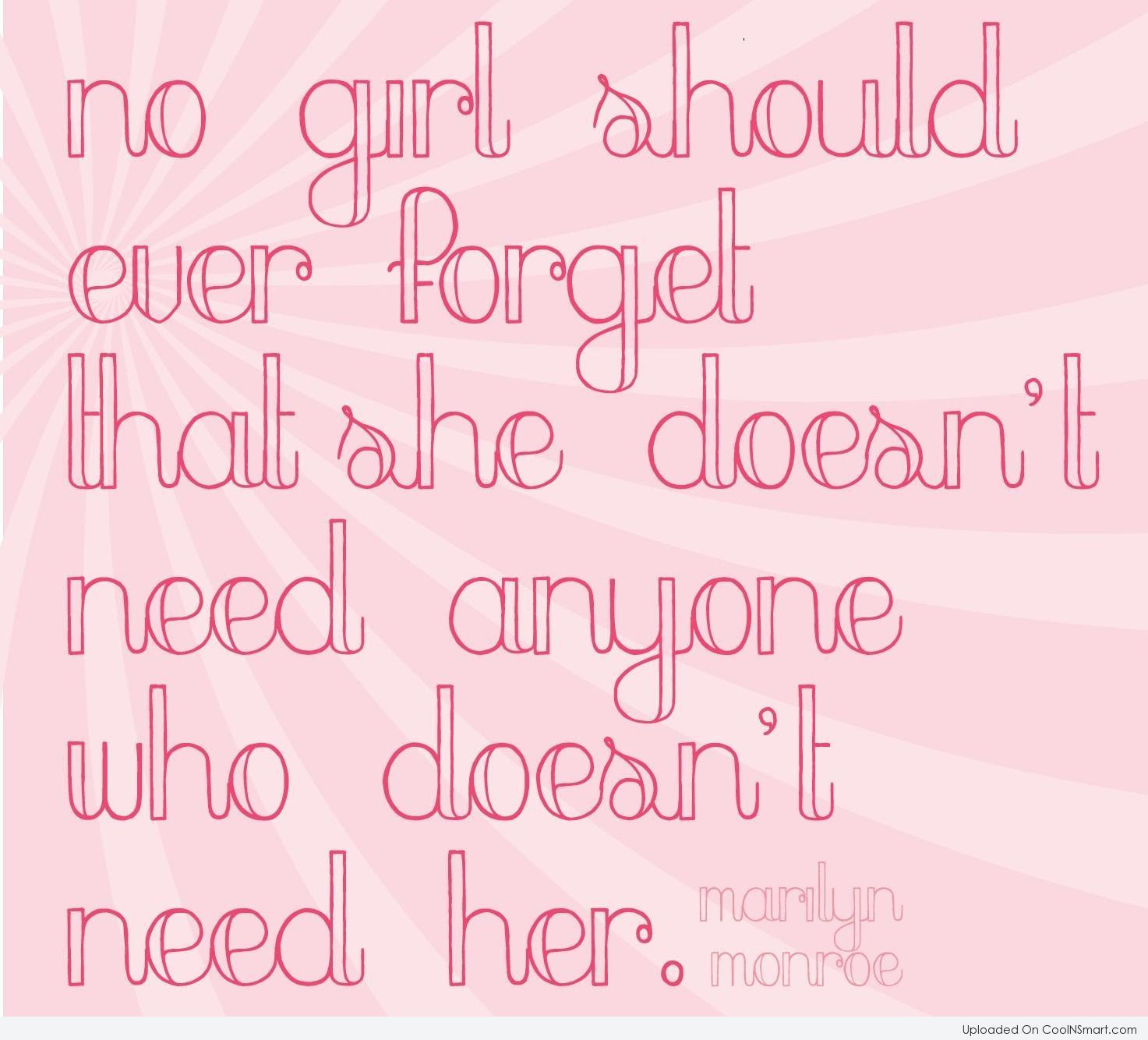 Quotes About Respect Girl 55 Quotes