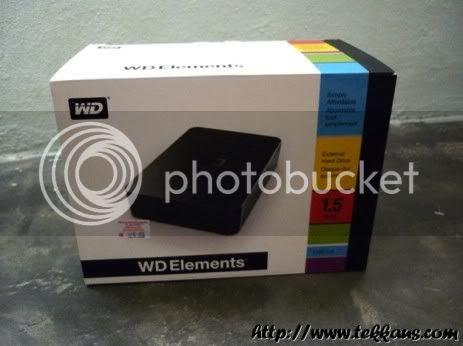 Western Digital Elements Hard Drive,1.5TB External Hard Drive