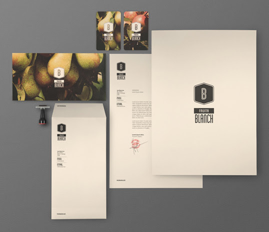 fruita21 60 Professional Examples of Stationery Design