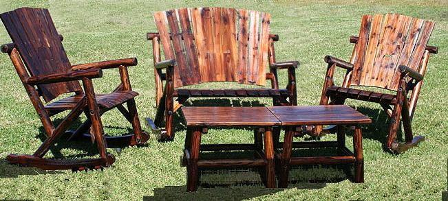 Rustic Cedar Outdoor Furniture