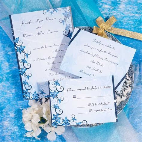 109 best images about Blue Wedding Invitations on