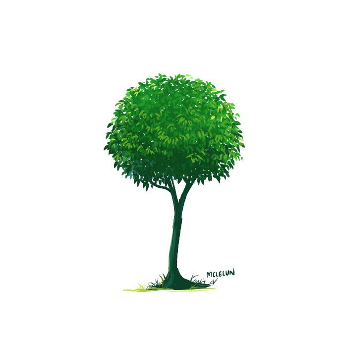 firealpaca tree painting