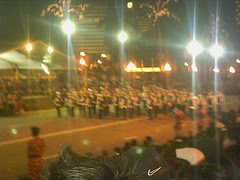 School band in action