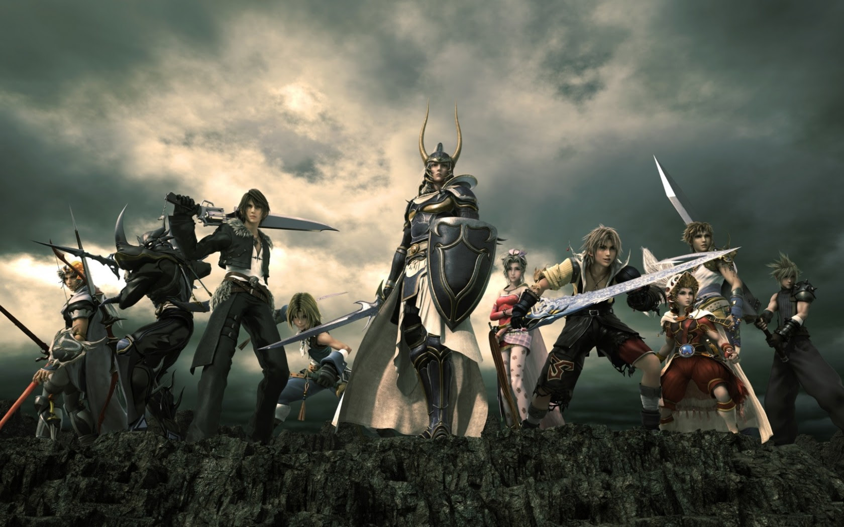 Final Fantasy Xiv Characters Wallpaper For Desktop And Mobiles