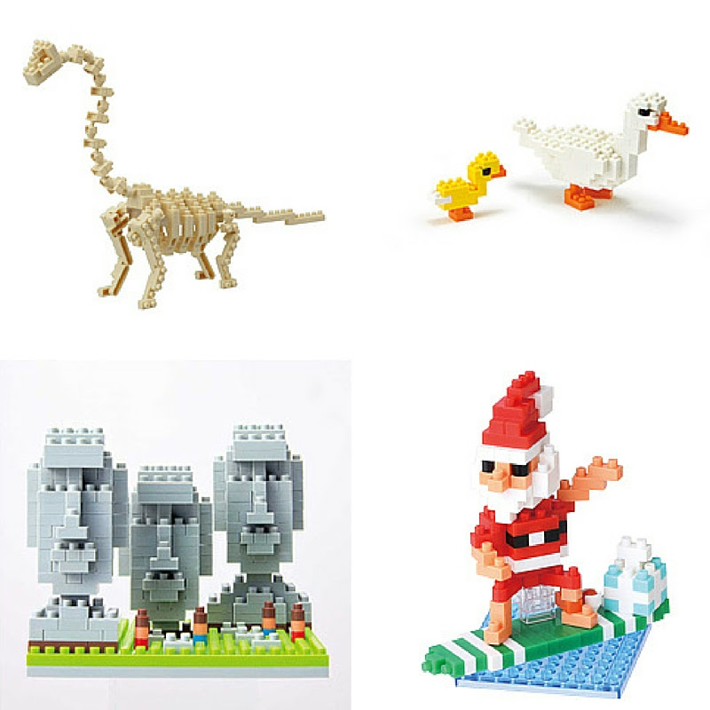 Nanoblock sets