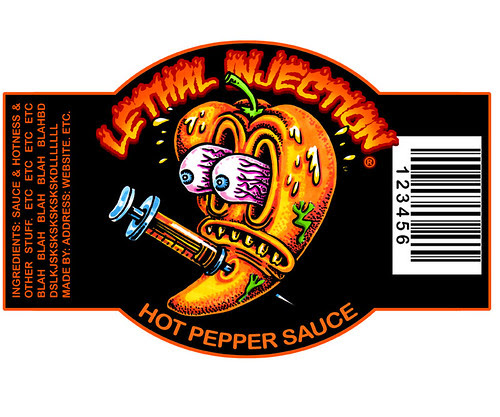 Lethal Injection Hot Pepper Sauce