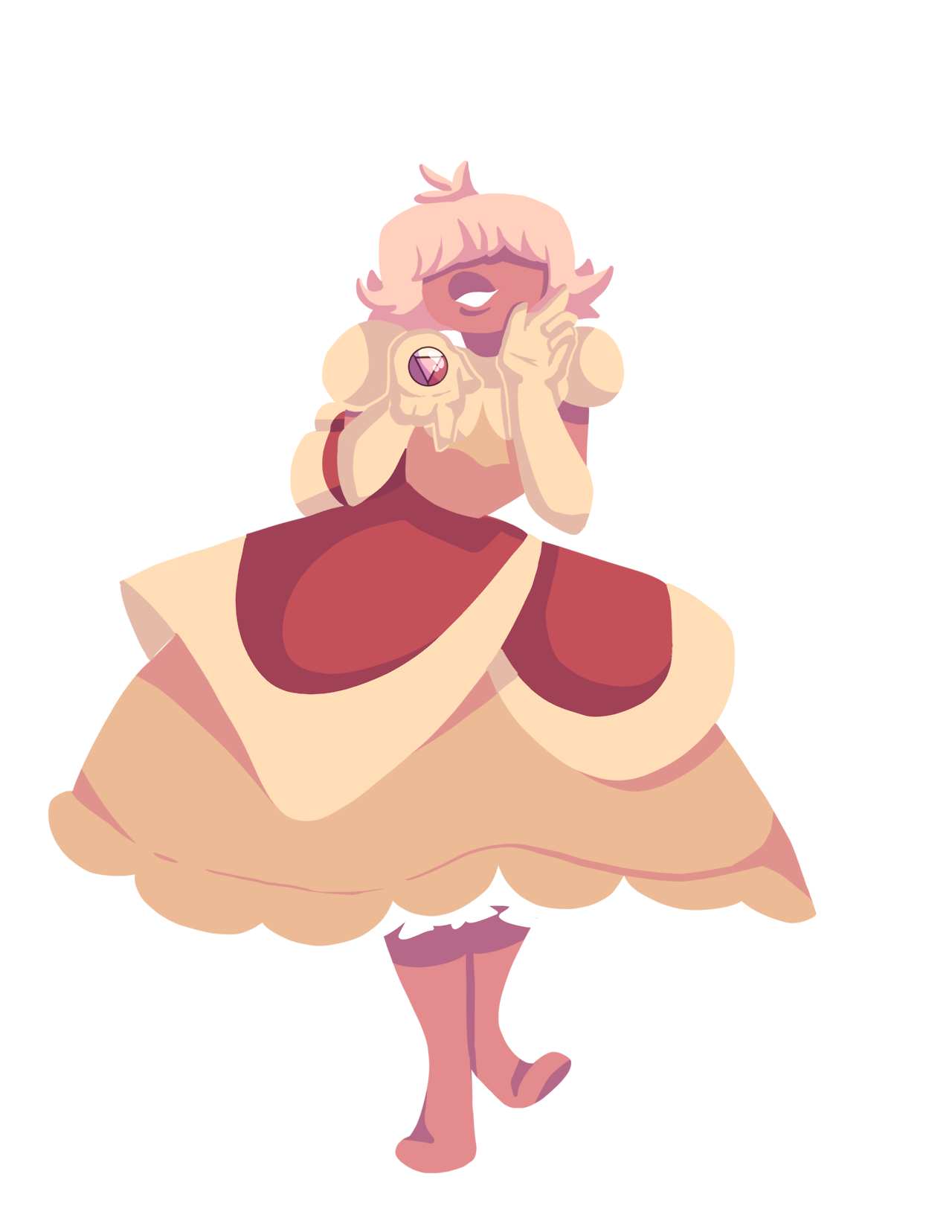 Padparadscha Sapphire, I love her so much omg