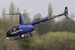 G-PIXX - Newsflight 1 departing Barton after a brief stop