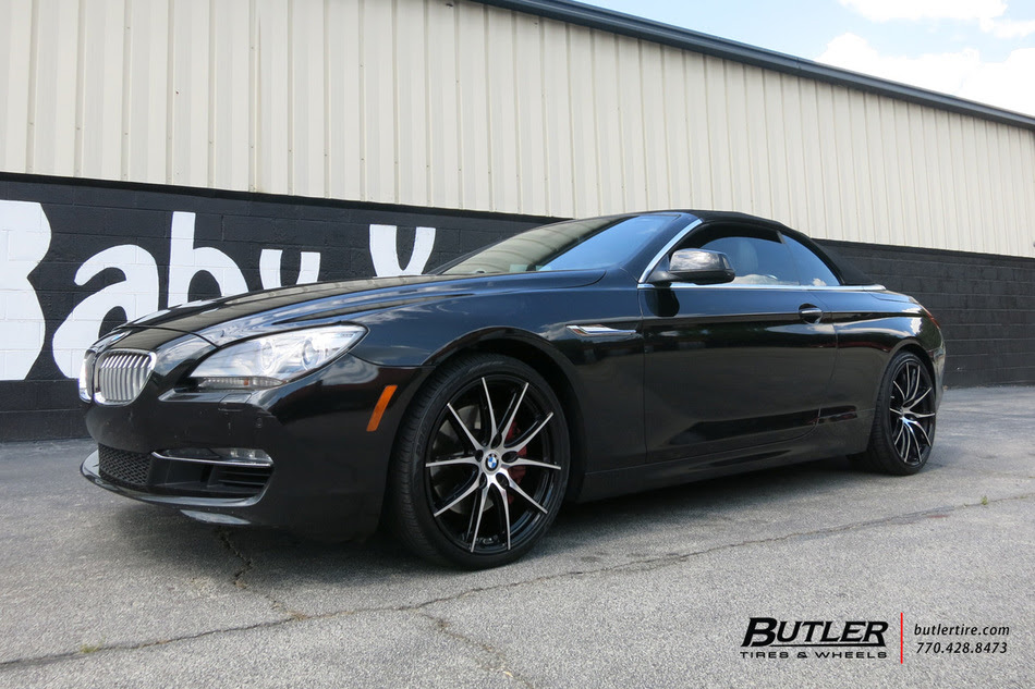 Bmw 6 Series With 20in Tsw Sprint Wheels Exclusively From Butler Tires And Wheels In Atlanta Ga