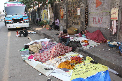Early Morning For The Homeless Dwellers by firoze shakir photographerno1