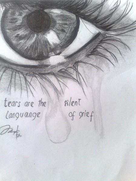 Depression Drawing, Pencil, Sketch, Colorful, Realistic ...