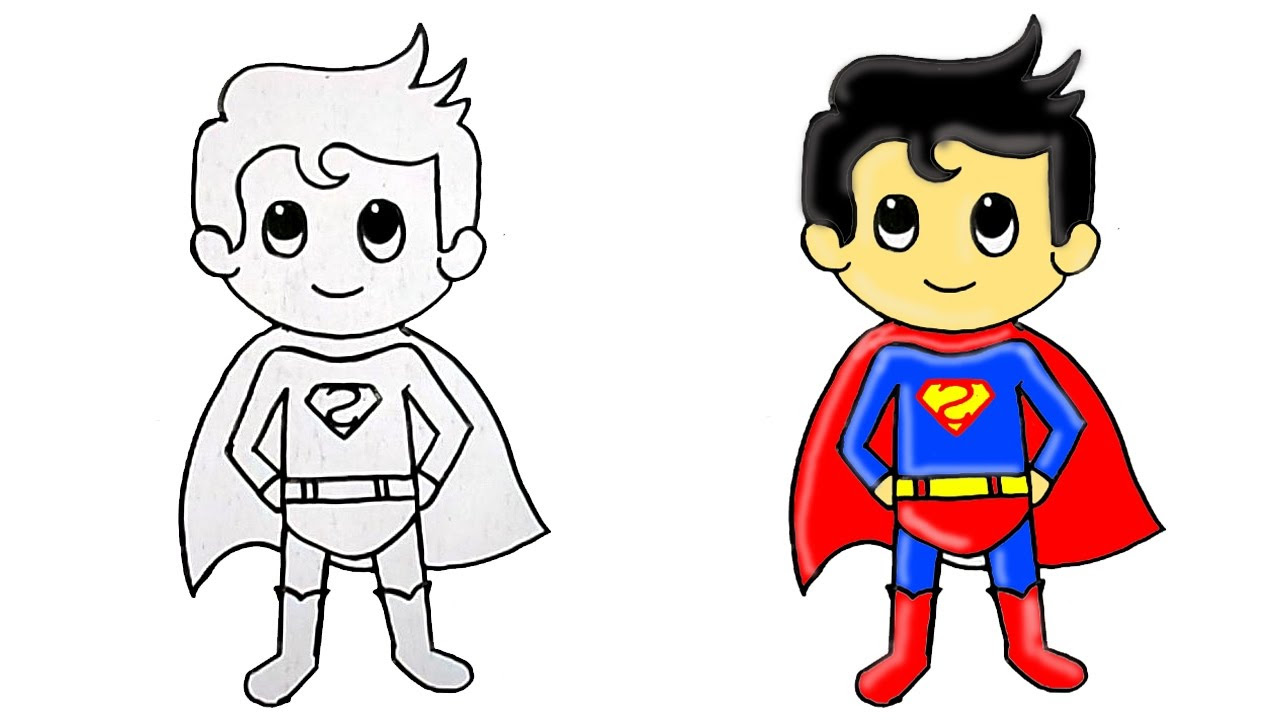 All About Super Cars Review Walpaper Download Cartoon Super Man Drawing