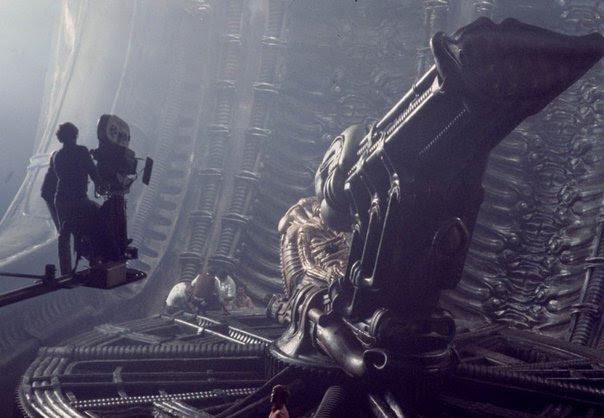 Alien Photos sur des tournages de films  photo histoire featured cinema 2 art