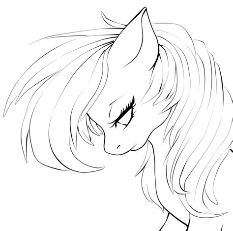 anime lineart mlp     ayoqq cliparts