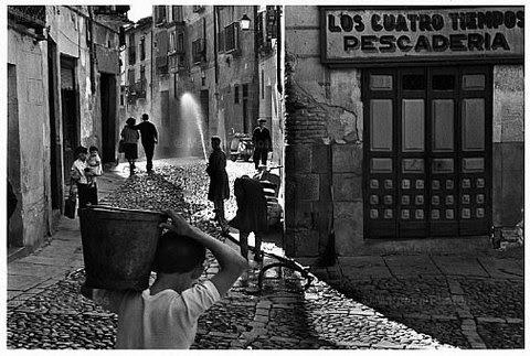 """""""Los cuatro tiempos"""", Toledo en 1961. Foto Inge Morath, Magnum Photo."""