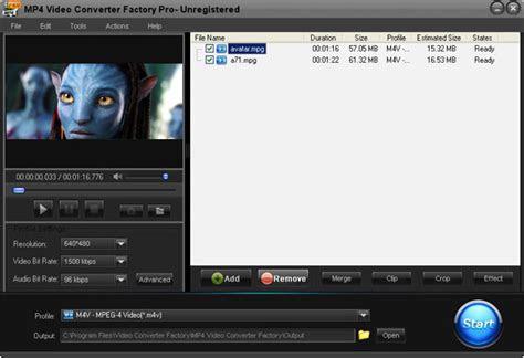 mp video converter factory   video  mp