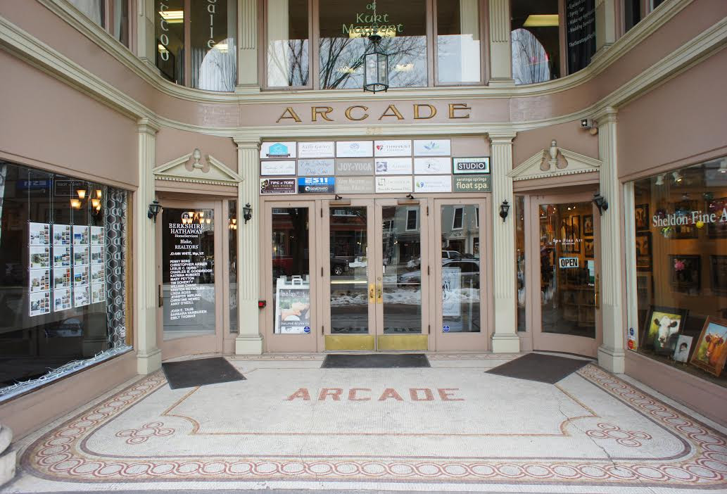 The Arcade Building Architecture And History Of Saratoga Roohan