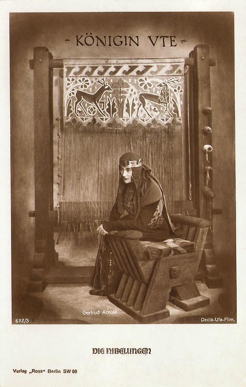 Die Nibelungen: Gertrud Arnold as Queen Ute