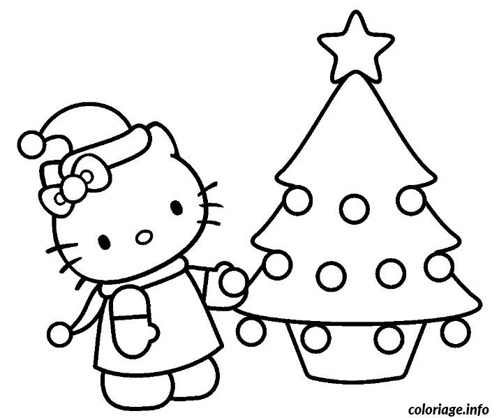 Coloriage Dessin Hello Kitty 170 Jecoloriecom