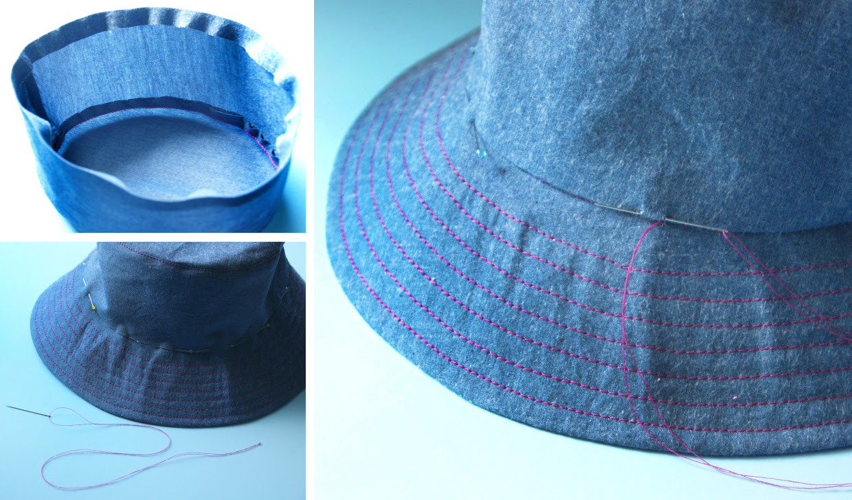 Free Sewing Pattern For Mens Bucket Hat With String