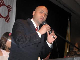 Hector Balderas Running for Senate