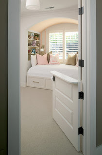 Kids Bedroom with Built-In Bed traditional bedroom