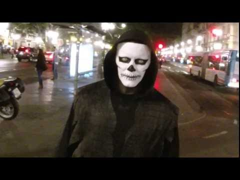 Halloween por las calles de Málaga 2014