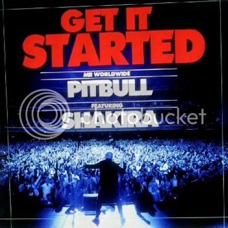 get it started, il nuovo singolo di pitbull ft. shakira