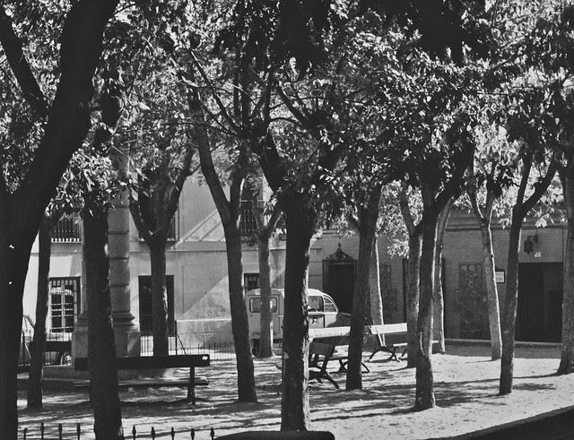 Plaza del Padre Juan de Mariana en 1967. Fotografía de John Fyfe