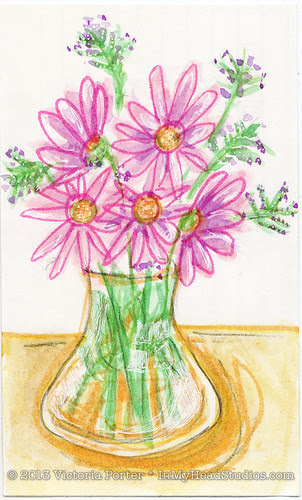"""""""Flowers from the Hospital"""" ICAD : 6-15-13"""