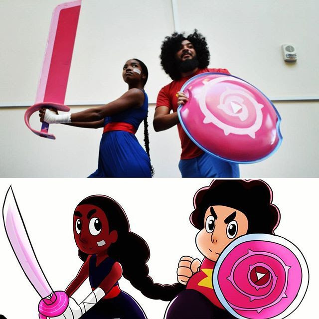 Steven Universe side by sides