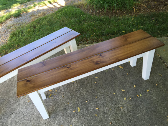 Farm Table Benches Kountry Kupboards