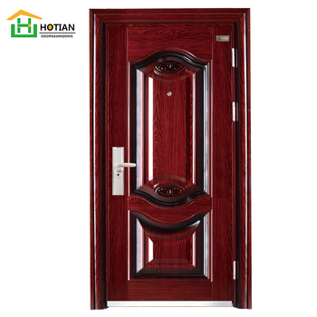 Indian House Main Gate Designs Cheap Steel Security Door Made In