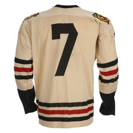 1963-64 Chicago Black Hawks jersey