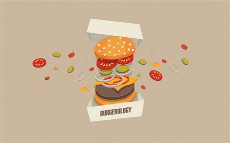 Image Burgerology Hamburger Fast food Food Vector Graphics