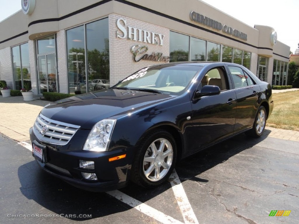 2005 Cadillac STS V6 in Blue Chip photo #14 - 230106 ...