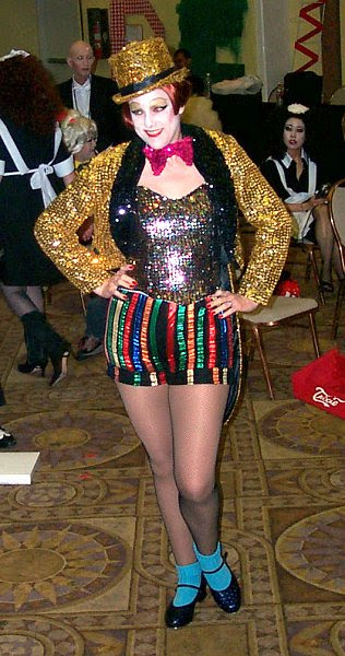 Costume Columbia Rocky Horror Picture Show Simhamanti Chinnodu
