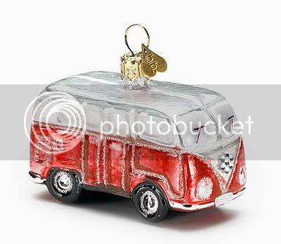 Bombki- Little Camper Red