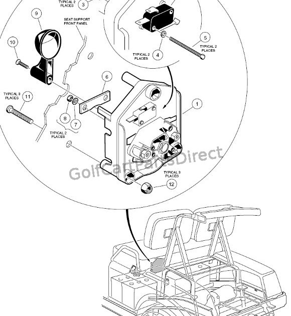 1997 Ezgo 36v Golf Cart Wiring Diagram