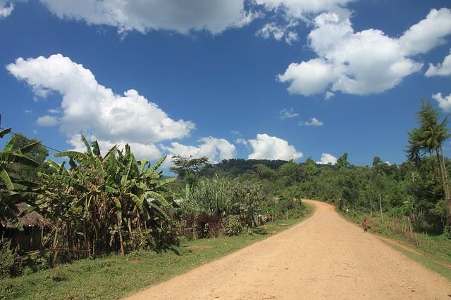 The road through Yukro