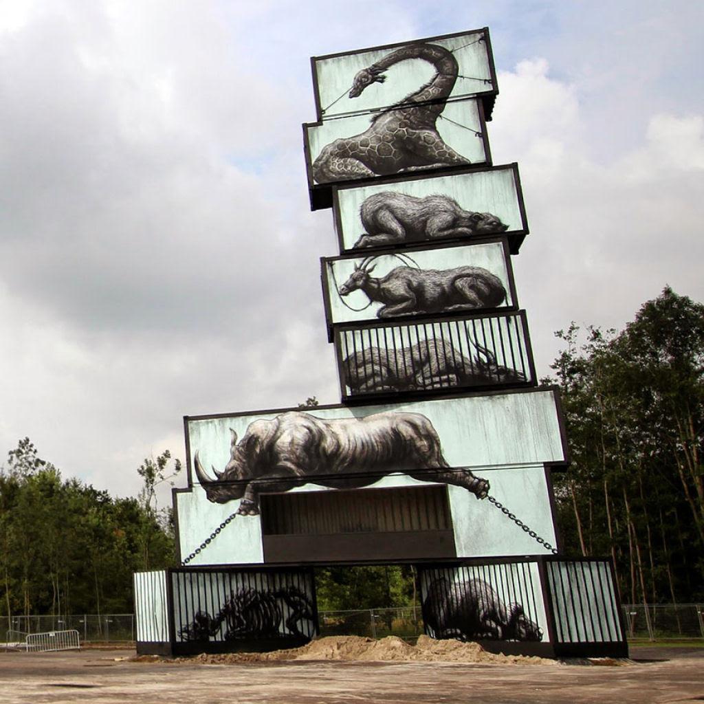 24 eloquentes obras de arte urbana mostrando a desagradável verdade 15