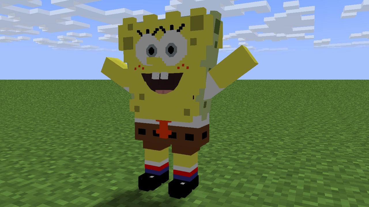Spongebob Minecraft Skin - NaturalSkins
