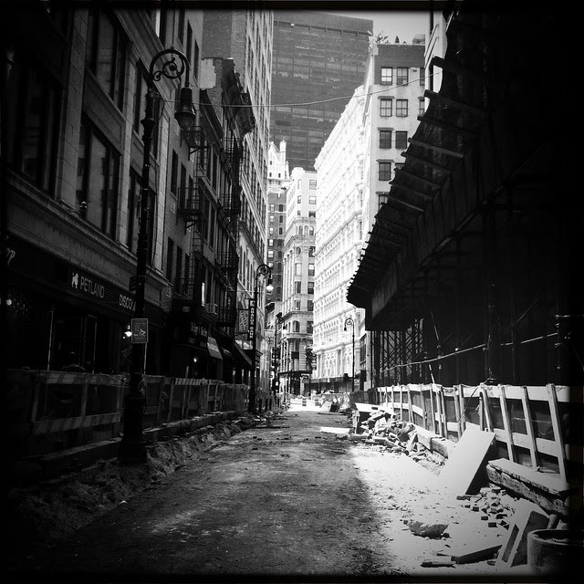 Nassau Street, street renovations