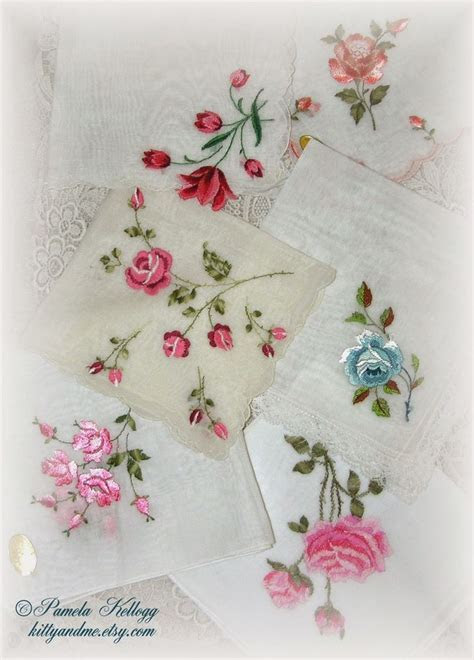 301 best Handkerchief images on Pinterest   Antique lace