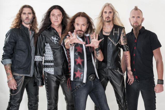 HAMMERFALL: Lyric Video For New Song 'The Sacred Vow'