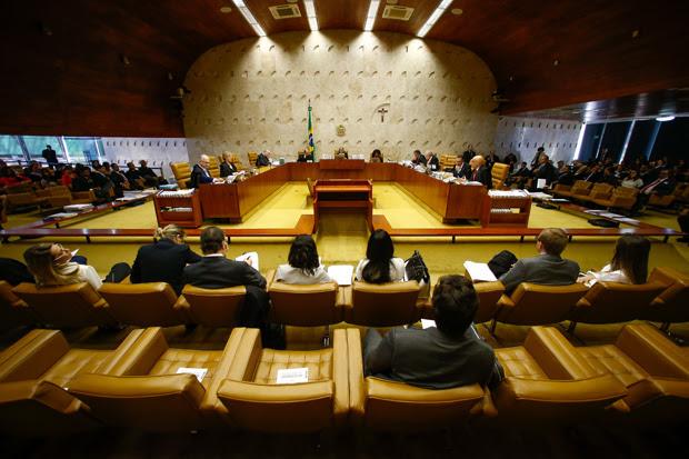 Sessão plenária do STF, sob a Presidência da ministra Cármen Lúcia