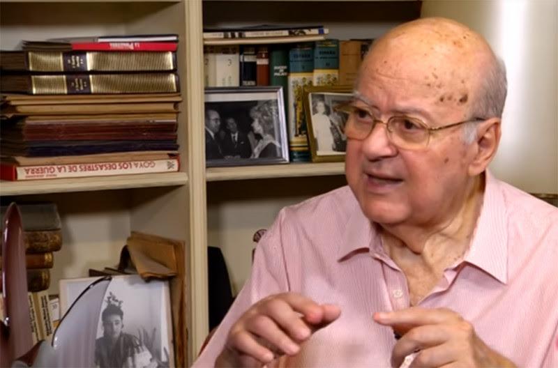 <p>El periodista y escritor Nicolas Jesús Salas, en una entrevista para <em>EL Correo de Andalucía</em>. Noviembre de 2017.</p>
